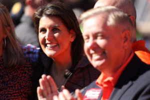SPOTTED: Nikki Haley and Lindsey Graham