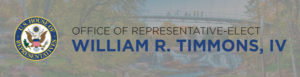 RELEASE: Representative-Elect William Timmons Announces District Director