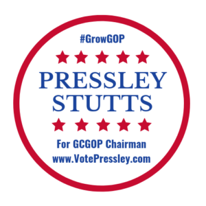 RELEASE – Pressley Stutts seek bid for Greenville County GOP Chairmanship