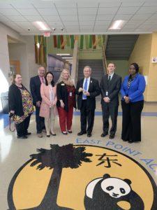 PIC – Congressman Joe Wilson Visits South Carolina Schools During School Choice Week