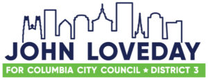 RELEASE – John Loveday For Columbia SC Council