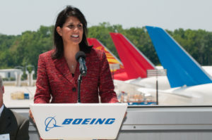 Boeing Board: Nikki Haley Cashes In