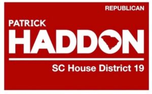 RELEASE – Conservative Businessman Patrick Haddon Announces Candidacy for SC House District 19