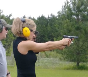 SC Lobbyist Shows Off Her Guns