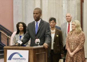 BAKARI SELLERS – Opportunity Project SC Announces School Donations of 1,300 Desks and 20 Teacher Supply Grants